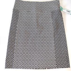 Margaret M Beth Printed Pencil Skirt
